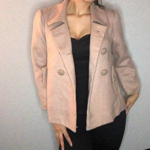 COSTA BLANCA beige peacoat with button detail